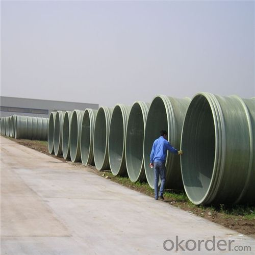 GRE PIPE ( Glass Reinforced Epoxy pipe)High Pressure-resistant Capability