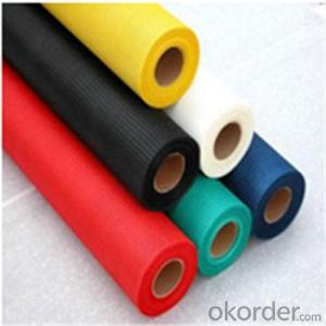 Fiberglass Mesh Coating 120g Plain Fabric
