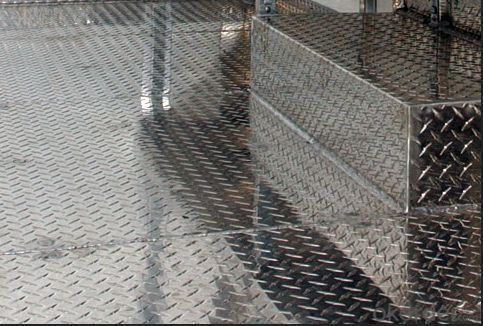 Anti-slip Aluminum Checkered Plate For Truck
