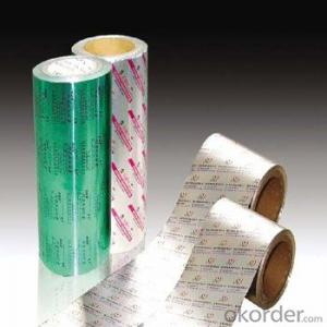 Pharmaceutical Foil Using Aluminium Foil