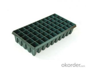 PS Plastic Type and Plastic Material Seedling Tray