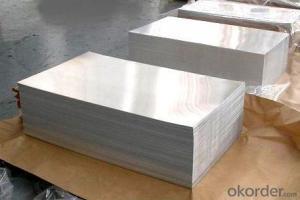 Aluminum Plain Sheets Customized Manufactured