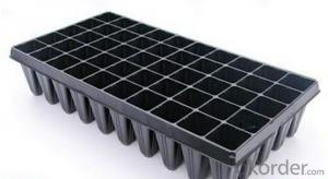 Plant Plastic Seedling Tray with large dimension