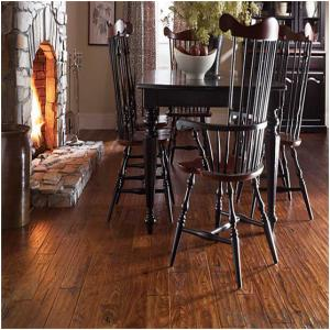 3mm Dark Limed Grey Oak Crystal Texture Vinyl Floor Colorful PVC Vinyl Flooring
