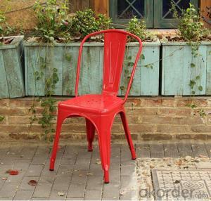 Dinning Chair Plastic & Wood & Metal Model CMAX-PP871