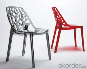Dinning Chair Plastic Crystal Model CMAX-PP812