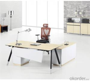 Office Table with MFC Material for Managers