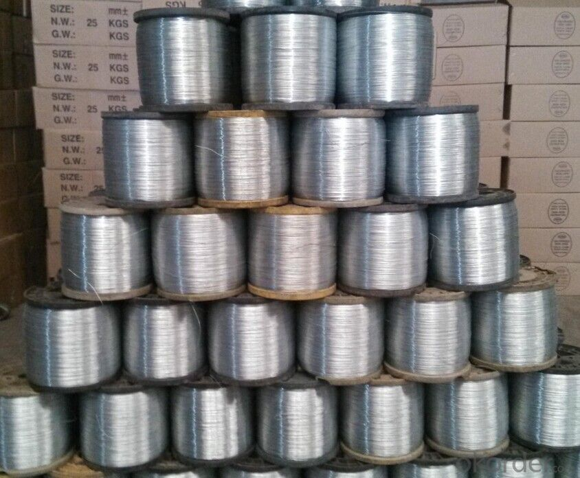 Hot Dipped Galvanzied Wire Galvanzied Steel Wire