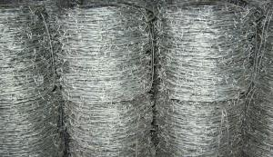 Hot Dipped Galvanzied Barbed Wire 10kg per Roll 1kg Per Roll