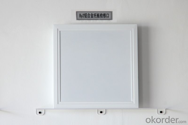 Steel Access Panel Key Open On Ceiling and Wall