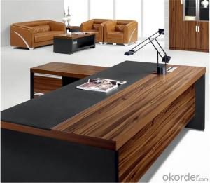 Commercial Executive Desks with MFC Material