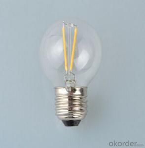 3w Edison Led Filament Bulb Light with Low Price 220v/110v/240v