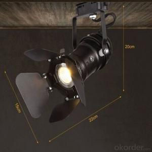 Black Track Light Led with High Quanlity and Best price