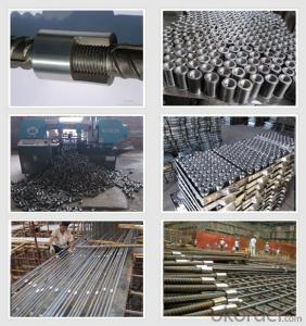 Steel Rebar Couplers Made in China with High Quality