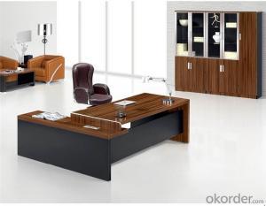 Executive Desk with Environmental Material