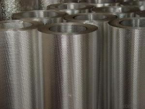 Cold rolled /Hot rolled Aluminium Coil with Embossed/Mirror/Color Coated Treatment