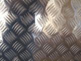 1100 3003 5052 5754 5083 6061 7075 Placa de aleación antideslizante de aluminio en relieve
