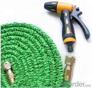 Expandable Fabric Flat Garden Irriagtion Car Washing Flexible Water Hose