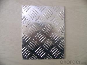 1100 3003 5052 5754 5083 6061 7075 Non-Slip Alloy Aluminum Embossed Plate