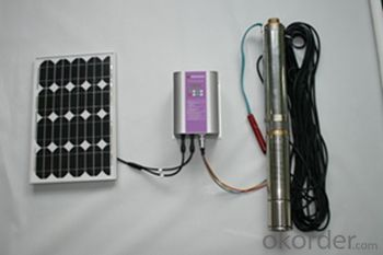 Solar Water Submersible Pump for Irrigation