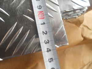 Diamond and Embossed Mill Finished Aluminium Coils for Construction