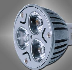3W  LED Lamp MR16 Casting Aluminum  Built-in constant Current Mode