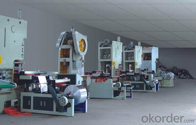 Stable Pneumatic Aluminium Foil Container Making Machine