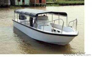 Aluminum Boat for Fishing with Different Size