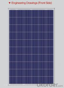 Latest Solar Panels High Efficiency Monocrystalline Silicon Solar Panels