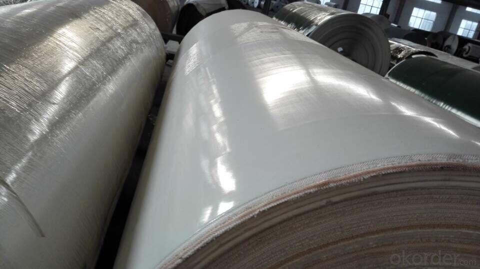 White Food Grade PU Conveyor Belt PVC Conveyor Belt