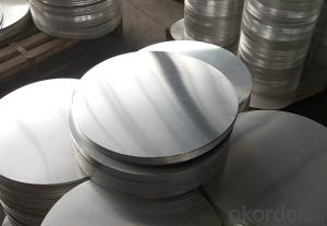Aluminum Discs circles with Hot Rolled Metal AA1100
