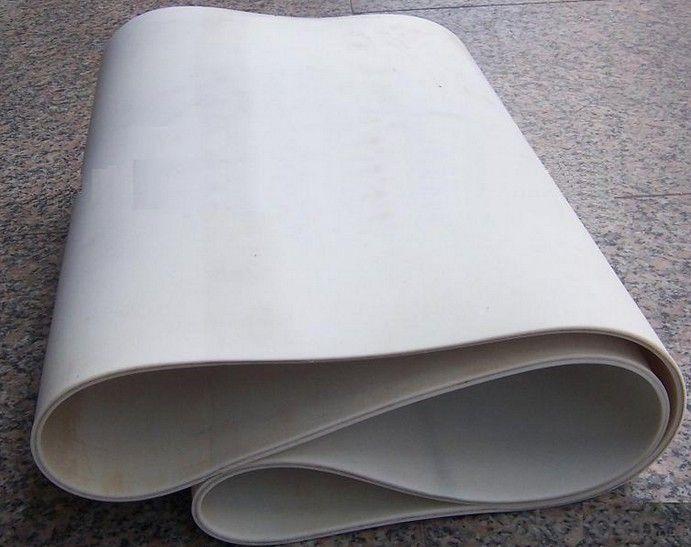 Food Industry White Food Grade PVC PU Conveyor Belting