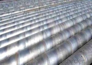 Low Carbon SSAW Steel Tubes With High Quality
