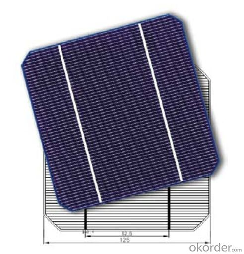 CNBM Monocrystalline Silicon Solar Cells125mm (16.50%—18.35%)