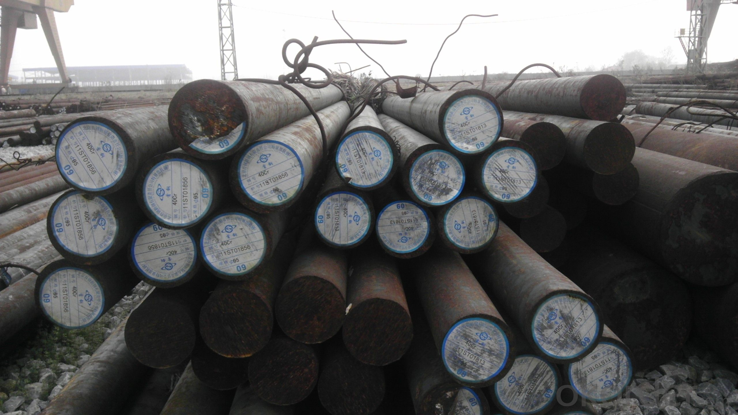 Special Steel Hot Rolled SCM440 Material Round Bar