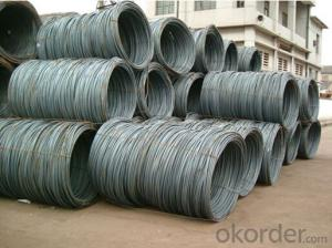 5.5mm/6.5mm/8mm/10mm SAE1008/SAE1006/SAE1010 Wire Rod