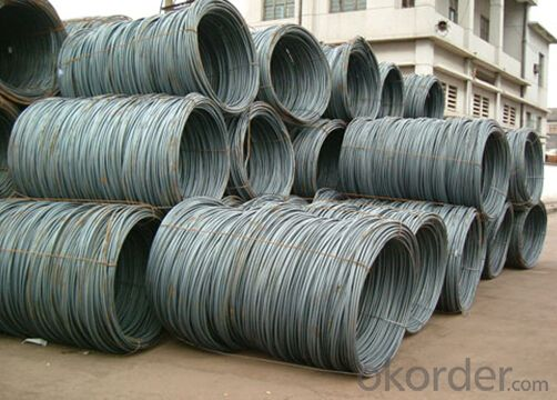Dia.5.5mm SAE1008B Steel Wire Rod with High Quantity