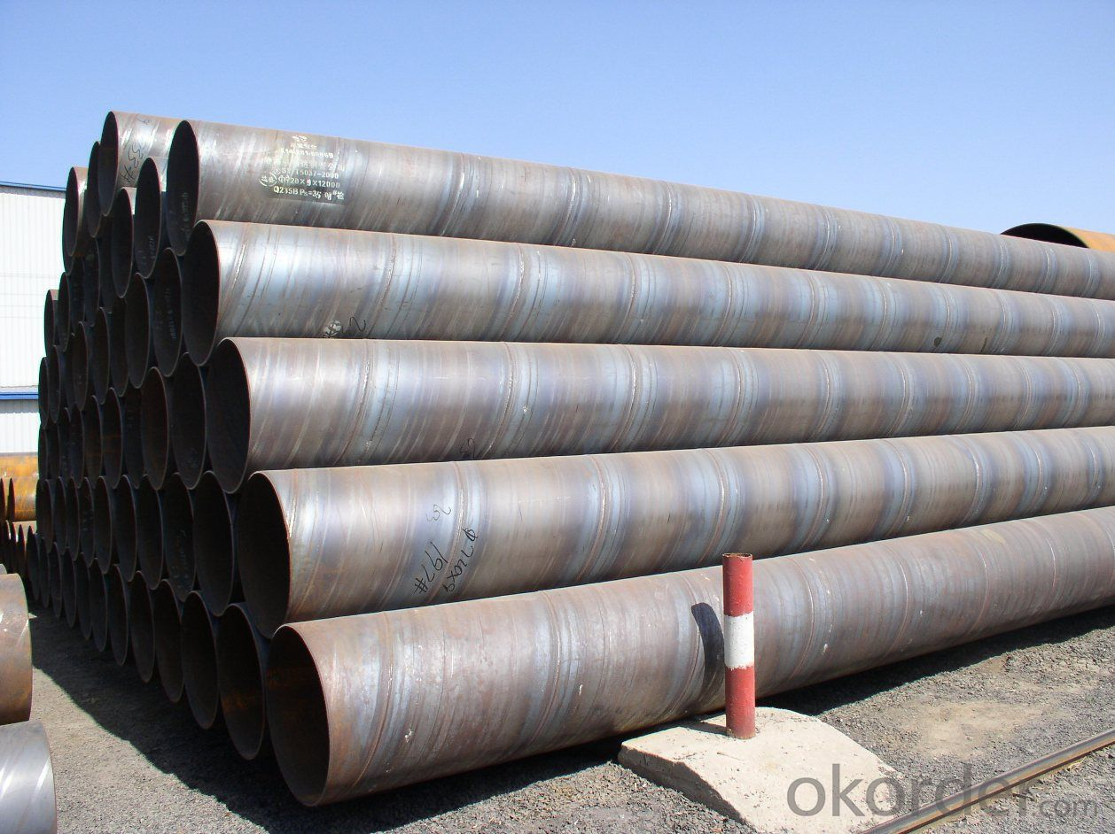SSAW High Carbon Steel Tubes With Great Quality