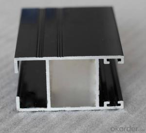 Aluminium Profile for Windows and Doors Construction Usage Extrusion