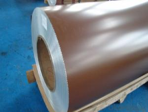 Mill Finished Color Coated Aluminium Coil