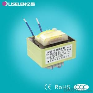 Low frequency EI type  Lead Transformer Without Clamping frame