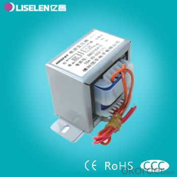 Low frequency EI type Lead clemping  Frame Transformer