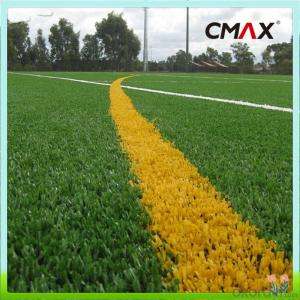 Outdoor Green Soccer Artificial Natural Fake Grass Lawns Recycled Eco Friendly FIFA Courts