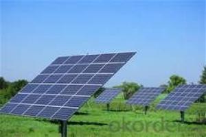 Patrol Car Solar Panels 50w 100W 120W Poly Solar Panel