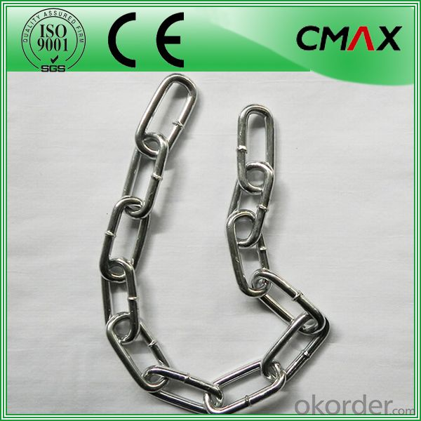 Galvanized Link Chain/Stainless Steel 316 G43 High Test Medium Link Chain