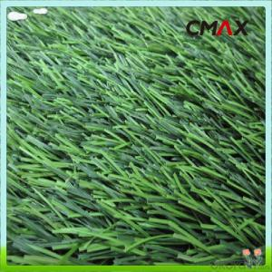 40mm PE Football Artificial Grass , Green Futsal Synthetic Lawn For FIFA Soccer Filed