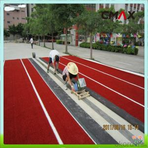 Environment Friendly Soccer Artificial Grass fake turf with PP cloth backing