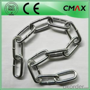 Galvanized Steel Link Chain DIN766 DIN763