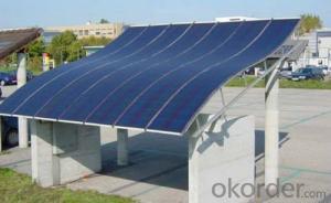 Flexible Solar Panels 300W Patrol Car Solar Panels
