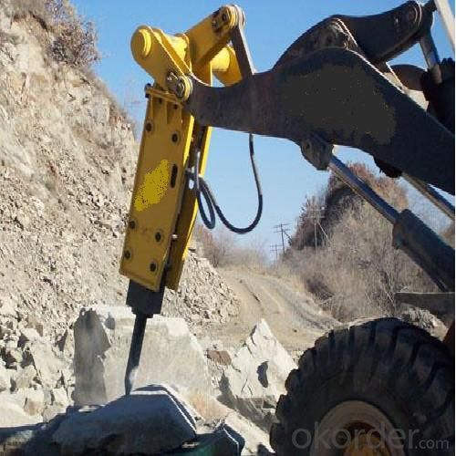 Breaker Chisel Machine with 18-26MT for Quarry